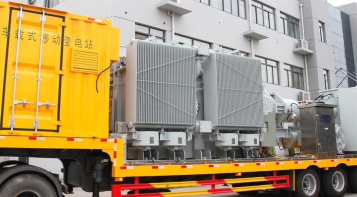 Mobile Transformer directly connected to GIS , self-cooling, lightweight designed with aluminum tank